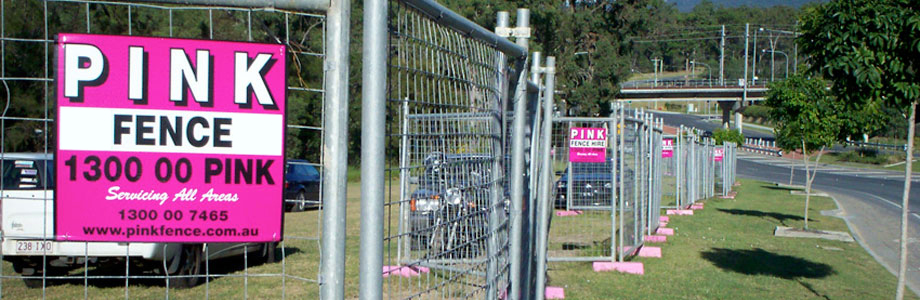 Welcome To Pink Fence Hire - Melbourne - Temporary Fencing - Fence Hire - Temp Fence - Pool Fence - Mesh Fence