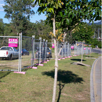 Pink Fence - Residential Fencing Hire - Temporary Fencing Hire & Rental